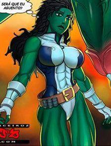 Encarando o Incrível Hulk