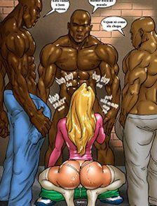 Hot Blond - A loira e os negões!