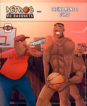 Treinamento duro no basquete