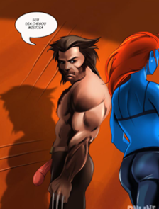 Wolverine desafia a Mística